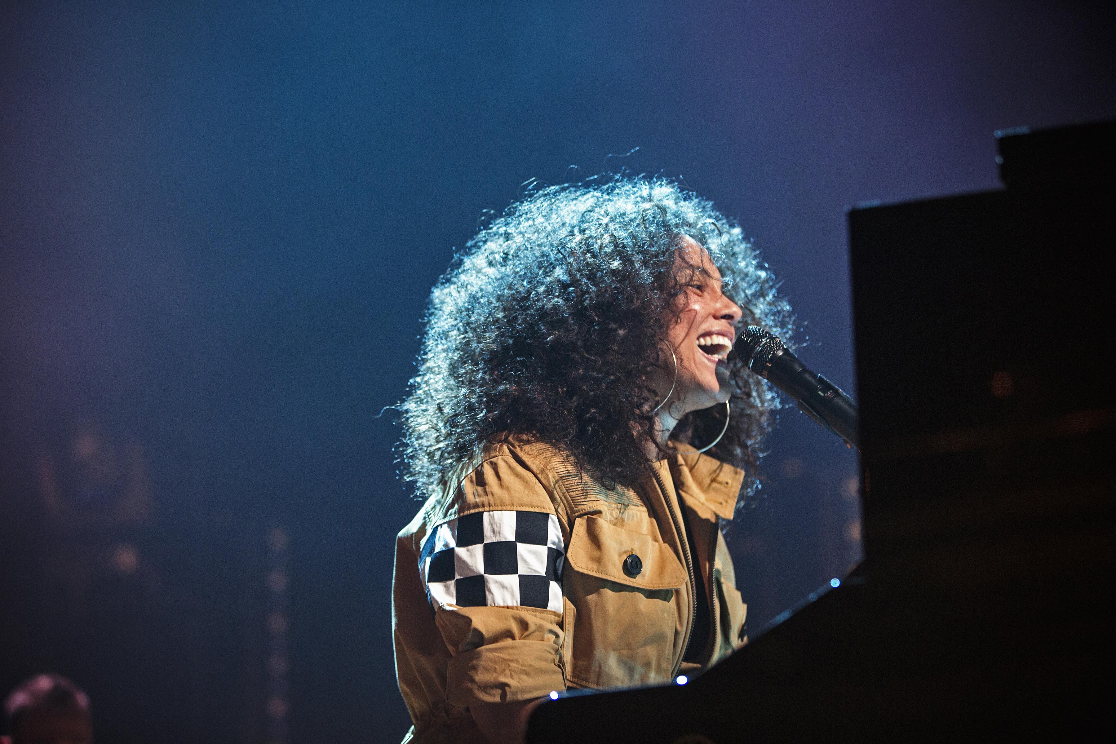 Alicia Keys: Courtesy of GREAT PERFORMANCES