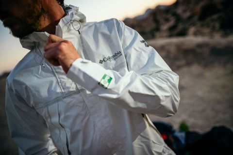 Columbia's OutDry Extreme ECO Jacket remains waterproof without the use of PFCs. (Photo: Business Wire)