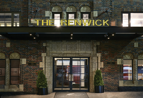 Hilton's Curio Collection Premieres in New York City with Art-Deco Renwick Hotel (Photo: Business Wi ...