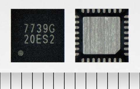 東芝: DC-DC電源とシリーズ電源を複数搭載したマルチ出力の汎用システム電源IC「TC7739FTG」(写真:ビジネスワイヤ)