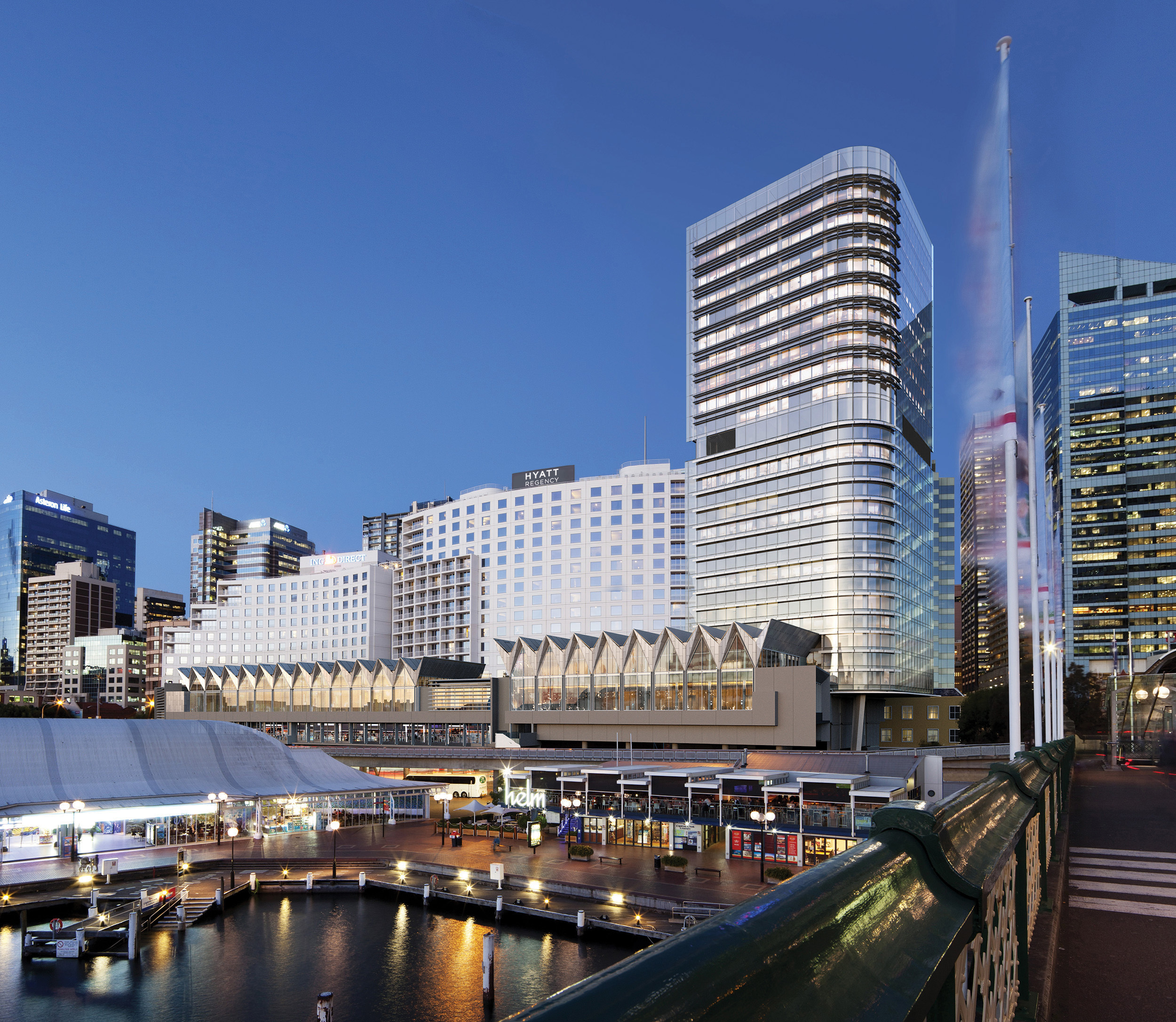 Hyatt Regency Sydney offers an unparalleled location in the Sydney Central Business District adjacent to Darling Harbour. (Photo: Business Wire)
