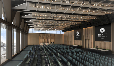 Hyatt Regency Sydney features more than 37,100 square feet (3,450 square meters) of state-of-the-art meeting spaces for events, including two ballrooms. (Photo: Business Wire)