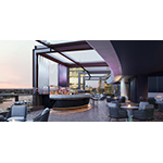 The open-air bar is set to open in late December, and will offer unbelievable views of Sydney. (Photo: Business Wire)