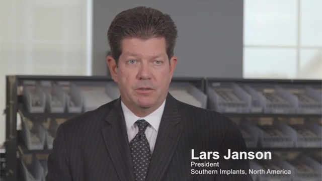SINA President, Lars Janson, introduces the commercialization of the Company's innovative treatment solutions to North American dental specialists focusing on the achievement of optimal patient outcomes through quality, science, and extensive education.