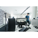 Bitmovin VR and 360° development for the video infrastructure API (Photo credit: Arnold Poeschl) (Photo: Business Wire)