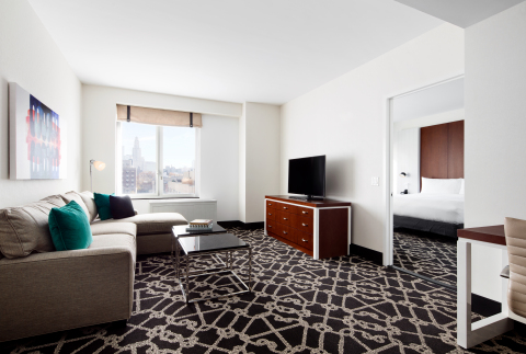 Hilton Hotels & Resorts today celebrates its arrival in Brooklyn's Boerum Hill with the landmark opening of Hilton Brooklyn New York. (Photo: Business Wire)