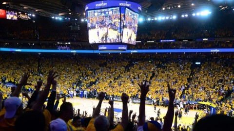 Accenture has been named the Official Technology Innovation Partner for the Warriors and will begin its relationship this season at Oracle Arena. (Photo: Business Wire)