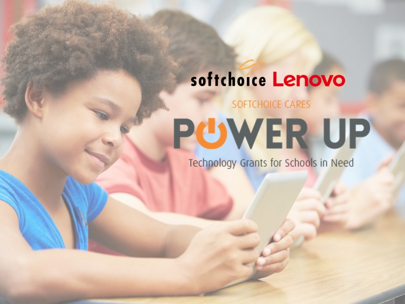 The POWER UP program focuses on schools that serve a high ratio of students from low-income neighborhoods, providing grants to purchase and integrate technology into classroom learning. (Photo: Business Wire)