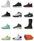 Nike presents the 12 Soles Collection this weekend, December 3-4, via the Nike+ SNKRS app. (Photo: Business Wire)