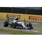 Nico Rosberg in the MERCEDES AMG PETRONAS Formula OneTM team car. (Photo: Axalta)