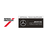 Spies Hecker®, Official Team Supplier for the MERCEDES AMG PETRONAS Formula OneTM Team. (Graphic: Axalta)