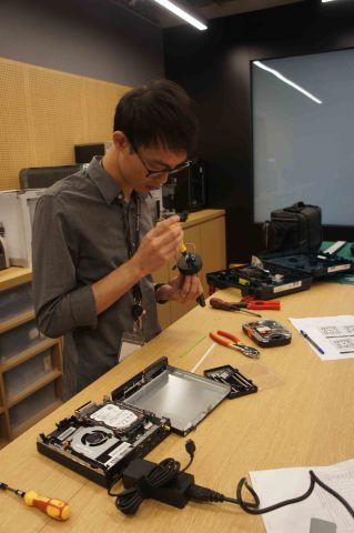 Deconstructing in the Makeshop (Photo: Business Wire)