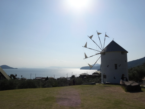 A Greek-style windmill (Photo: Business Wire)