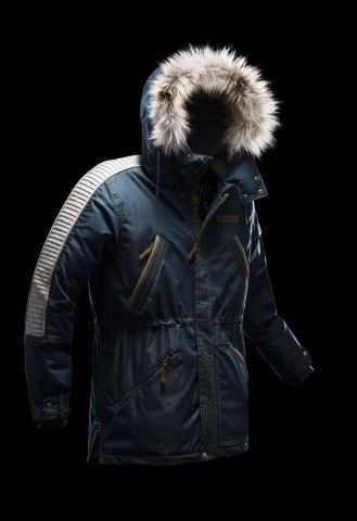 The Captain Cassian Andor Rebel Parka is built to withstand the harshest conditions. It features Col ...