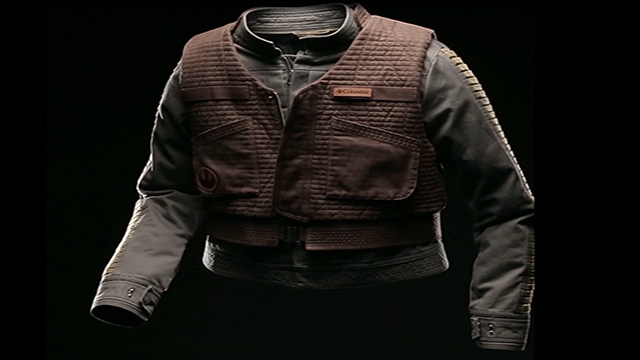 This 360 degree video showcases the premium fabrics and details of the Jyn Erso Rebel Jacket. (MSRP: $400)