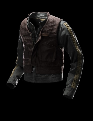 Inspired by the main character of the film, the Jyn Erso Rebel Jacket features a quilted vest that can be worn separately or layered with the jacket. (MSRP: $400) (Photo: Business Wire)