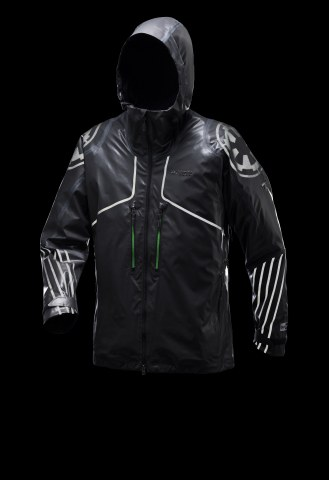 The Imperial Death Trooper Jacket is waterproof, fully seam-sealed, and features reflective Imperial Army details to showcase allegiance to the Dark Side. (MSRP: $450) (Photo: Business Wire)