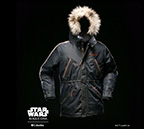 Captain Cassian Andor Rebel Parka, one of three styles in the collaboration between Columbia and Star Wars. (MSRP: $500)