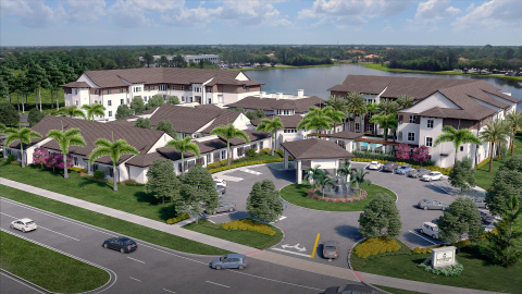 Watercrest of St. Lucie West Assisted Living and Memory Care Community Will Open to Residents in Fall 2017. (Photo: Business Wire)
