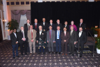 2016 IEEE-SA Awards Recipients. Top row from left:   Michael J. Thompson, Richard H. Hulett, Yatin Trivedi, Tingyan Lyu, Jan Wittenber, Anthony Ki Cheong Ho, Kerry Blinco, Stephen F. Bush. Bottom row from left: Abhay Karandikar, Michael W. Wactor, Ted A. Burse, James R. Frysinger, Brad Lehman, Hermann Koch, Sudhakar E. Cherukupalli, Michael Johas Teener, Giovanni Acampora. (Photo: Business Wire)