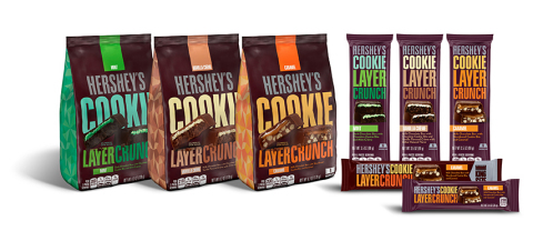 Hershey's Cookie Layer Crunch Bar – The Treat with an Intersection of Flavors and Textures – Finally ...