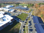 PV Solar installations at Wayland High School, Wayland, MA. Photographer: Andrew Bakinowski Photo: Courtesy of Ameresco