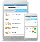Inspections Solutions is an example of a mobile app developed in Alpha Anywhere. (Graphic: Business Wire)