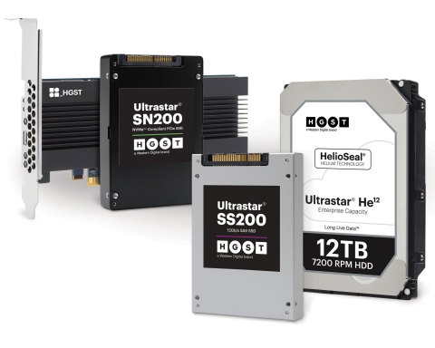 New Western Digital Enterprise-Class HDDs and SSDs Deliver Breakthrough Performance and Capacity (Photo: Business Wire)