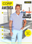 CEO of the Year Andy Khawaja of Allied Wallet on Cover of Corporate America (Photo: Business Wire)