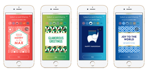 Jonathan Adler is making the gift of money personal and stylish with custom digital holiday cards for PayPal.(Photo: Business Wire)