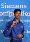Vineet Edupuganti, of Portland OR, is the individual winner of the 2016 Siemens Competition in Math, Science and Technology -- and takes home a $100,000 scholarship. (Photo: Business Wire)