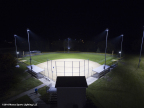 Musco's Total Light Control—TLC for LED™ technology is a responsible sports lighting system for players, owners, managers, neighbors, and the night sky. (Photo: Musco Lighting)