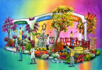 "For the 45th year, City of Hope will be participating in the annual Tournament of Roses Parade. The 2017 float, themed ""The Miracle of Science with Soul,"" reflects City of Hope's unique combination of leading-edge research and lifesaving care, a combination that creates second chances for patients suffering from cancer, diabetes and other life-threatening diseases. Patients credit their medical teams for giving them those second chances and a future — inspiring them to continue to have long, successful lives. (Photo: Business Wire)"