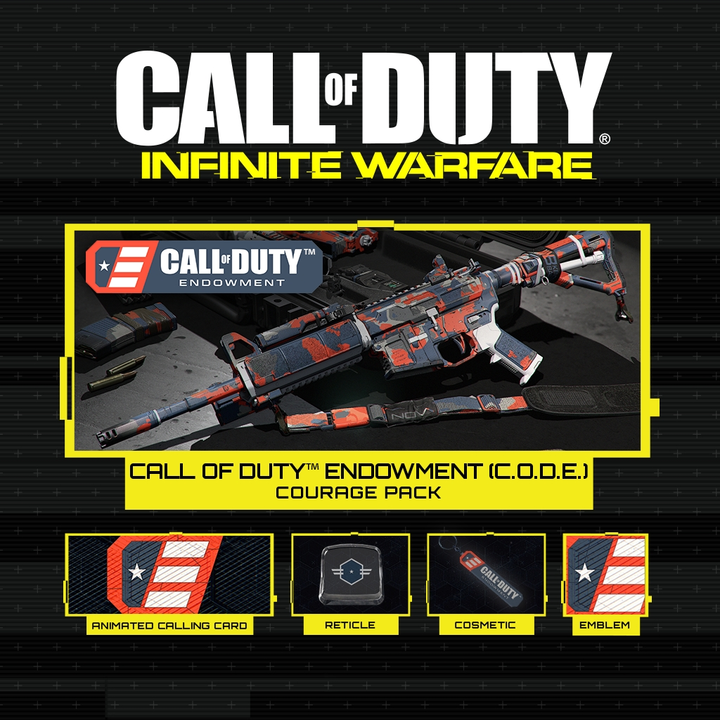 The Call of Duty™ Endowment (C.O.D.E.) Courage Personalization Pack for Call of Duty®: Infinite Warfare, developed by Infinity Ward (Graphic: Business Wire)