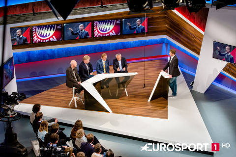 MX1 facilitates satellite transmission for Eurosport 1HD on HD+ (Photo: Business Wire)