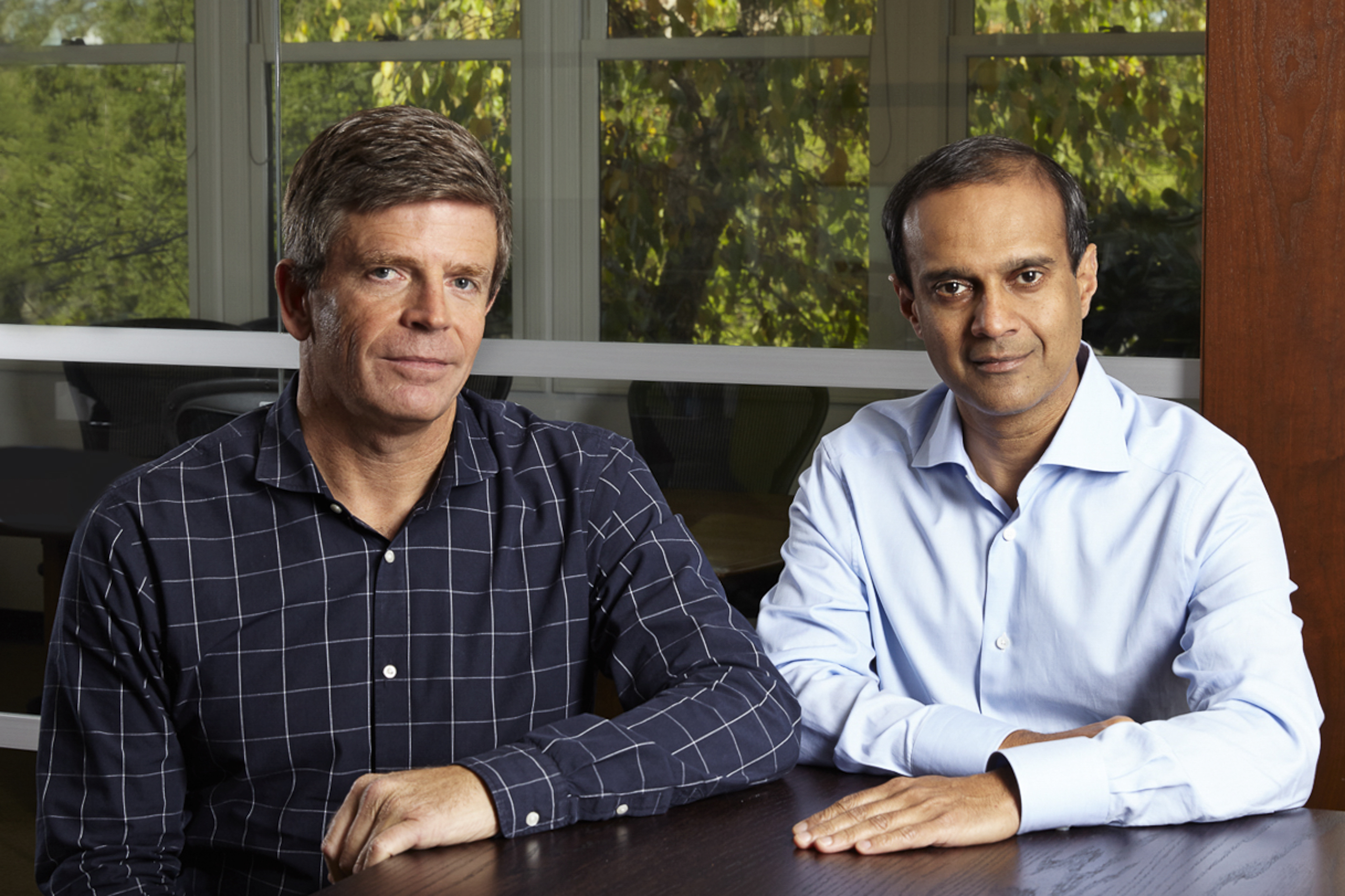 Peter Wagner and Gaurav Garg, co-founders of Wing Venture Capital. On Wednesday, Wing announced it has closed Wing Two, its $250 million second fund. (Photo: Business Wire)