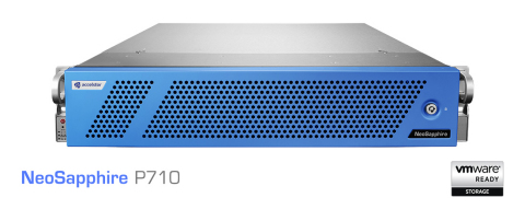 AccelStor New Flagship All-Flash Array: NeoSapphire P710 (Photo: Business Wire)