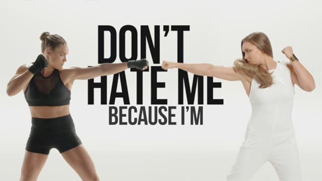 Pantene y Ronda comunican el mensaje 'No me odien porque soy fuerte', porque la fuerza siempre es hermosa #StrongIsBeautiful.