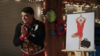 A Klick Creative Director pitches 'Yoga Santa' in the just-released 2016 Holiday Video – an entertaining and off-the-wall, behind-the-scenes look at the agency's rebrand of Santa Claus. The video, described as 'The Office meets Mad Men Holiday Special,' can be seen at http://www.klick.com/holiday. (Photo: Business Wire)
