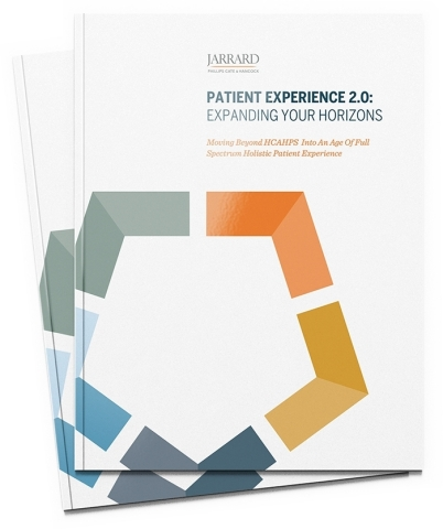 Patient Experience 2.0: Expanding Your Horizons Report by Jarrard Phillips Cate & Hancock, Inc. (Photo: Business Wire)
