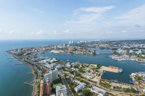 Hyatt Regency Cartagena is located in the city's Bocagrande district. (Photo: Business Wire)
