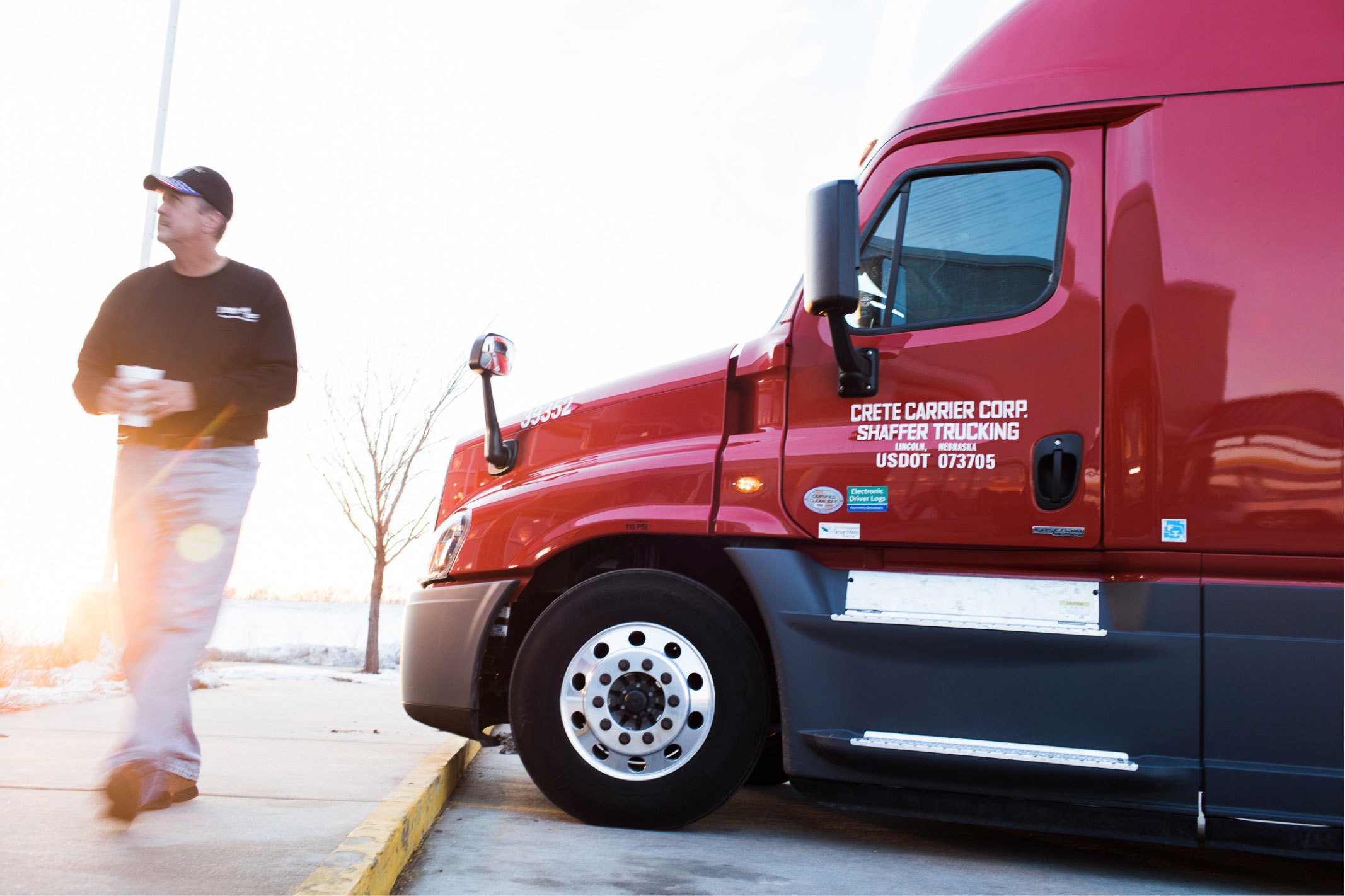 Crete Carrier And Shaffer Trucking Raise Pay Business Wire