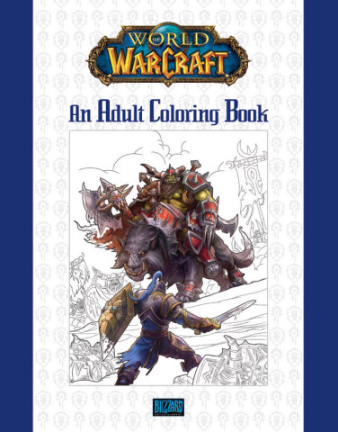 The World of Warcraft Adult Coloring Book is an epic volume of more than 80 pieces of concept art, s ...