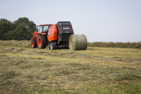 Kubota launches two new baler models, the BV4160SS and BV4180SS, designed specifically for producers who need the additional features for baling silage, hay, or straw to meet the ever-changing demands of farming. (Photo: Business Wire)