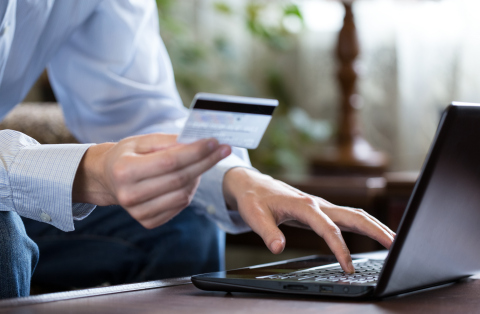 This year, online shopping is expected to become the No. 1 destination for holiday gift buying and it's important to protect your personal data from cyberattacks. (Photo: Business Wire)