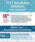 2017 Resolution Solutions: Maximize Workplace Benefits Using Four Seasonal Steps