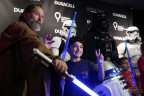"""Duracell celebrates its 1 million battery donation to Children's Miracle Network Hospitals nationwide by joining forces with Lucasfilm and """"Rogue One: A Star Wars Story"""" to transform Children's Hospital Los Angeles (CHLA) into a galactic playground, Thursday, Dec. 8, 2016, powering imagination for those who need it most. (Photo by Matt Sayles/Invision for Duracell/AP Images)"""