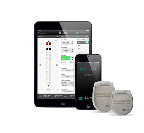 Proclaim™ Elite Spinal Cord Stimulation System (Photo: Business Wire)
