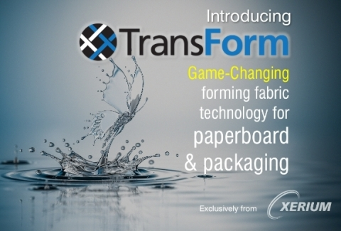 TransForm Technology Incorporates New-to-world Proprietary Polymers with Unique Structural Designs (Photo: Business Wire)