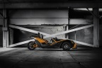 The 2017 Slingshot(R) SLR will be put into action when some of the world's greatest drivers assemble for the Race Of Champions (ROC) on Jan. 21 - 22, 2017 inside Marlins Park, in Miami, Fla. (Photo: Business Wire).